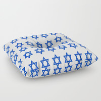 Star of David Floor Pillow by oldking