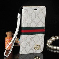 Gucci Fashion Print iPhone Phone Cover Case For iphone 6 6s 6plus 6s-plus 7 7plus-4