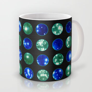 SPARKLE CIRCLES Mug by catspaws