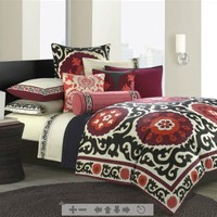 N Natori Samarkand Bedding by N Natori Bedding; Comforters, Comforter Sets, Bed In A Bag, Bedspreads, Quilts & Duvets: The Home Decorating Company