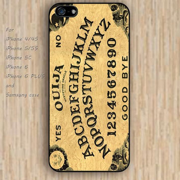 iPhone 6 case cartoon Ouija Board iphone case,ipod case,samsung galaxy case available plastic rubber case waterproof B139