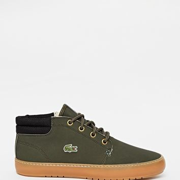 Lacoste Ampthill Terra Green Chukka Ankle Boots