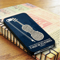 Sherlock It Must Be So Boring Sherlock Doctor Who iPhone 4 Or 4S Case