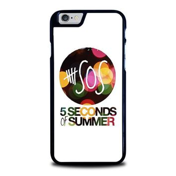 5 seconds of summer 5 5sos iphone 6 6s case cover  number 1