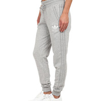 adidas Originals Cuffed Slim Track Pant Medium Grey Heather - 6pm.com