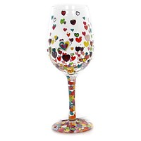 Tabletop Hearts-A-Million Love My Wine Wine Glass