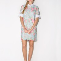 Elie lace collar dress