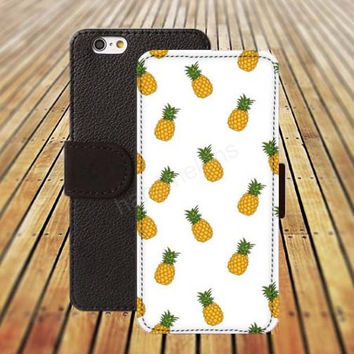 iphone 5 5s case cartoon pineapple dream colorful iphone 4/4s iPhone 6 6 Plus iphone 5C Wallet Case,iPhone 5 Case,Cover,Cases colorful pattern L455