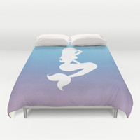 Silhouette  Duvet Cover by Ashley Hillman