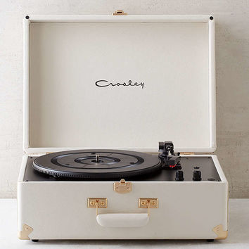 Crosley X UO Keepsake White Portable USB Vinyl Record Player - Urban Outfitters