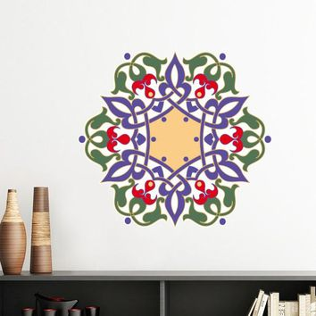 Islam Islamism Religion Arab Allah Faith Pilgrimage Mubarak Totems Decoration Wall Sticker Decals Mural Wallpaper for Room Decal