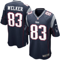 Nike Wes Welker New England Patriots Youth Game Jersey - Navy Blue - http://www.shareasale.com/m-pr.cfm?merchantID=7124&userID=1042934&productID=505599243 / New England Patriots