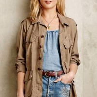 Lou Anorak by Burning Torch Taupe