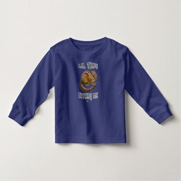 Lil Tiny Toddler Design by Kat Worth Toddler T-shirt