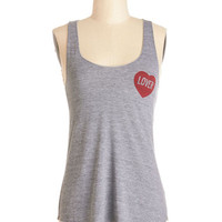 MNKR Sayings Mid-length Tank top (2 thick straps) Not a Hater Tank
