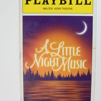 A Little Night Music Playbill