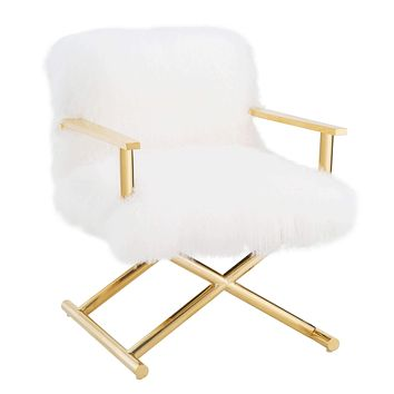 Jodi Sheepskin Chair
