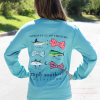 Simply Southern Long Sleeve - Fishy Fishy