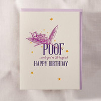 Poof Fairy Birthday Card