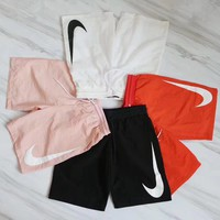 nike unisex 4 color boyfriend casual shorts