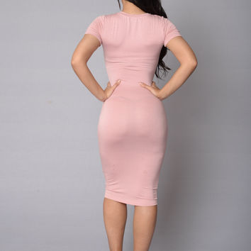 Barbara Dress - Blush
