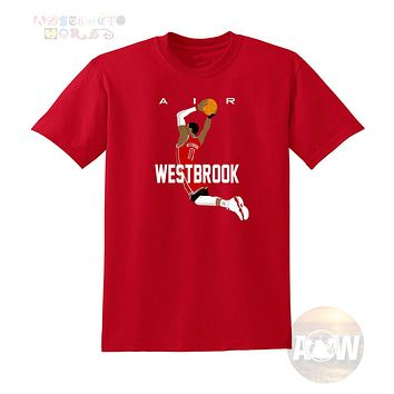Russell Westbrook Houston Rockets Basketball Tee Adult Unisex T Shirt