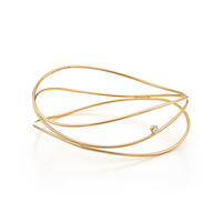 Tiffany & Co. - Elsa Peretti®:Wave Three-row Bangle