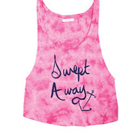 Swept Away Tank - Pink Multi