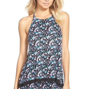 Junior Women's Ten Sixty Sherman Floral Print Tank,