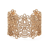 Etched Filigree Wrist Cuff