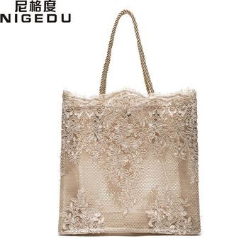 Lace lace ladies handbag 2017 summer new Dinner Wedding Bridal Party Hand Bag