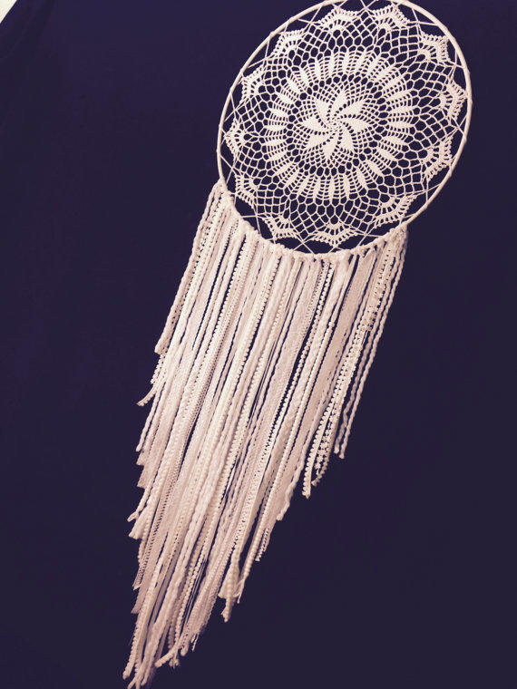 Huge Dream Catchers For Sale Huge White Dream Catcher Crochet Doily from MonaKhalilCreations 22