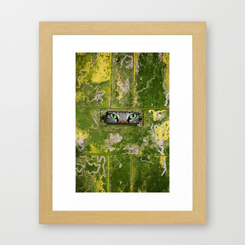 ANSWERED Framed Art Print by catspaws