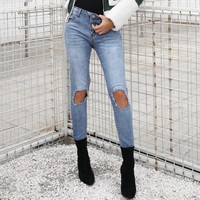 Stacey Ripped Skinny Jeans