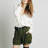 Free People Womens Jane Utility Short