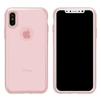 FSHANG Fitted Phone Case for iPhone X Solid Color Phone Case for iPhone X Transparent Phone Cover Phone Cases FS06