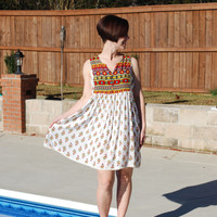 In Living Color Boho Dress