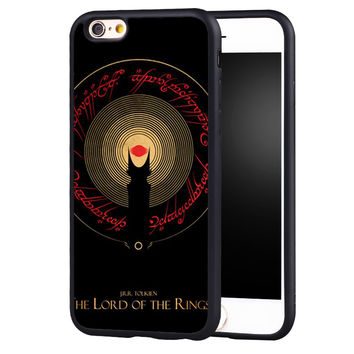 Lord of the Rings Printed Soft TPU Skin Mobile Phone Cases OEM For iPhone 6 6S Plus SE 5 5S 5C 4 4S Back Shell Cover