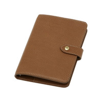 Pocket Book in Oak Natural Leather | Men's | Mulberry
