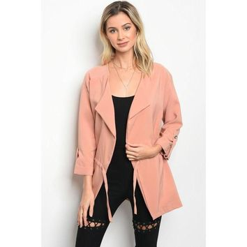 Blush Fitted Jacket