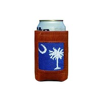 South Carolina Flag Needlepoint Can Holder by Smathers & Branson