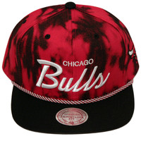Chicago Bulls Red Denim Back 2-Tone Snapback