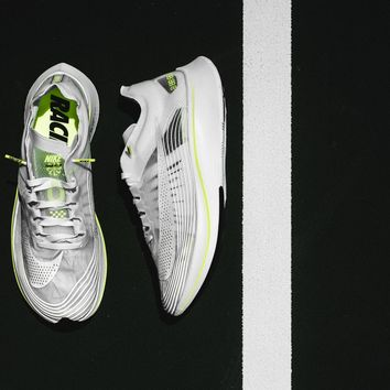AA AUGUAU Nike Zoom Fly SP - Summit White/Volt Glow