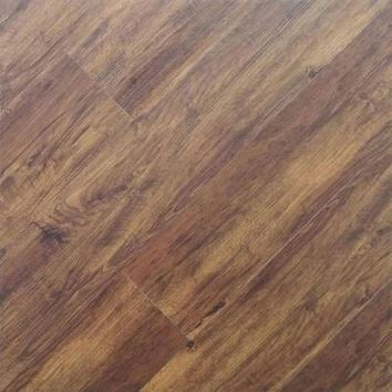 TrafficMASTER 5.15 in. x 36 in. Espresso Natural Oak Peel and Stick Vinyl Plank Flooring (24.4625 sq. ft. / case)-50728 - The Home Depot