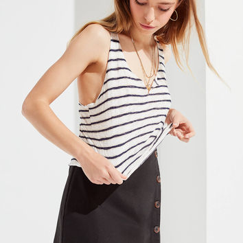 Project Social T Textured Notch Tank Top | Urban Outfitters
