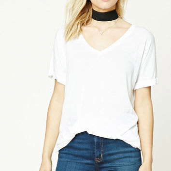 Contemporary V-Neck Dolman Top