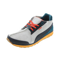 Puma Mens MMQ Trinomic Suede Colorblock Casual Shoes