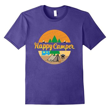 Cool Campers Happy Camper T Shirt Gift Idea