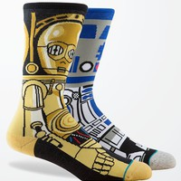 Stance - Disney Star Wars Droid Crew Socks - Mens Socks - Blue - One