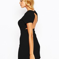 Love | Love Pencil Dress With Open Back at ASOS